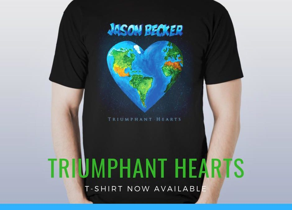 Brand New Triumphant Hearts T-shirt Now Available!