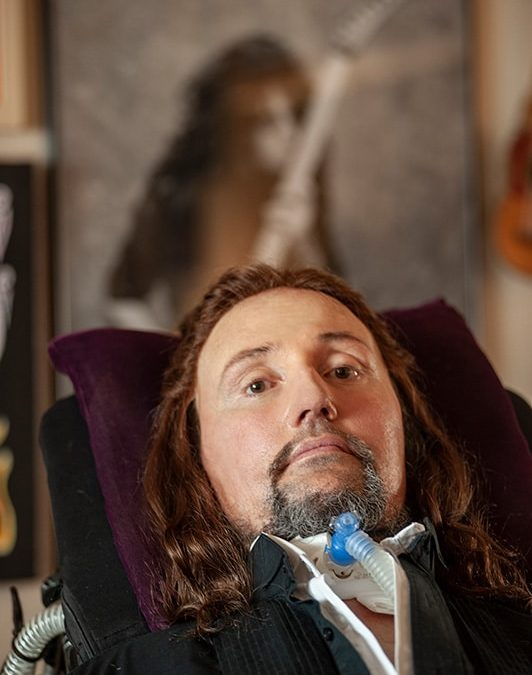 """Update on Jason Becker:  We are all in survival mode and working hard to come back to """"normal"""" mode. And fun."""