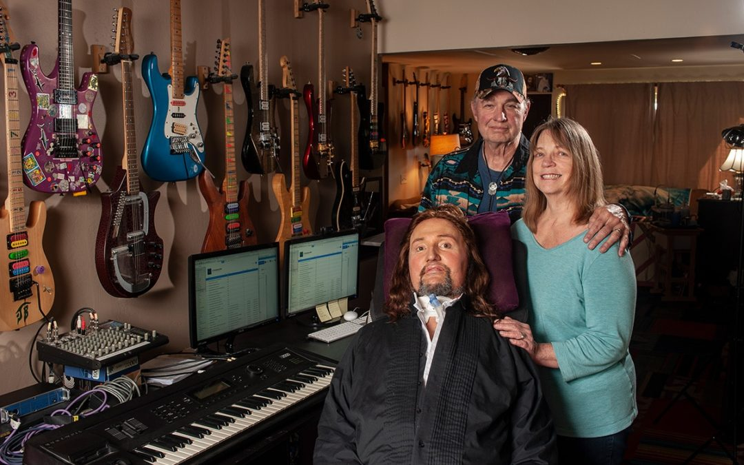 Update on Jason Becker:  Looking Forward to Feeling Good Again, and Appreciates All Your Support.