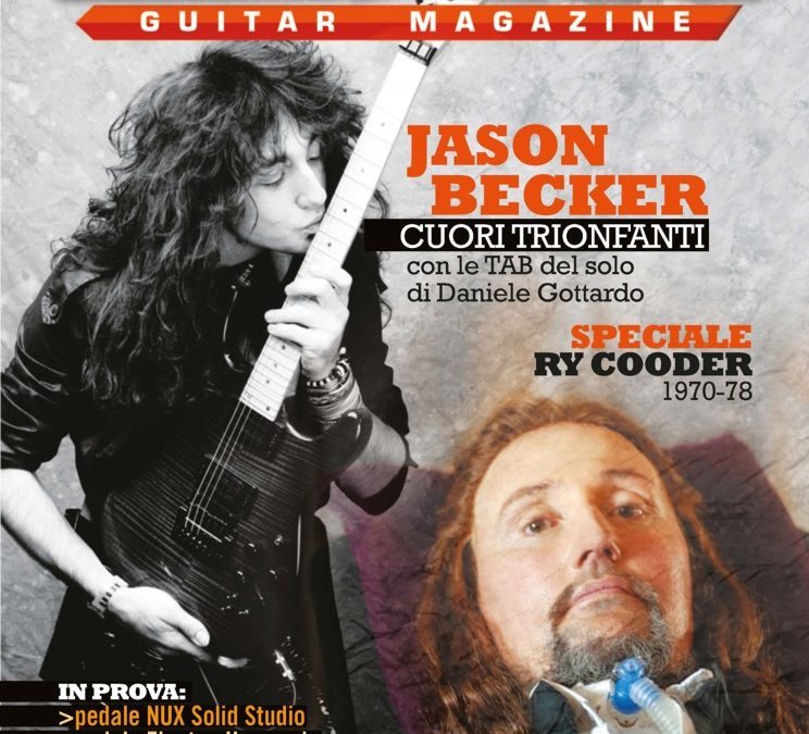 Jason Becker on the Cover of Axe Guitar Magazine