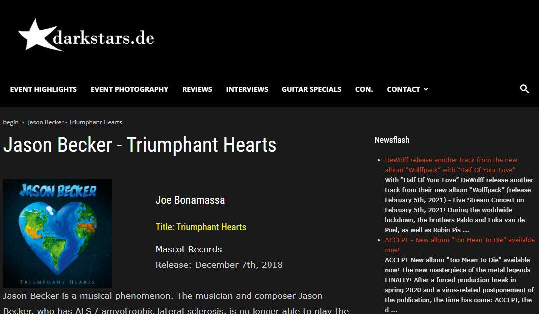 Jason Becker Triumphant Hearts Review – Darkstars.de