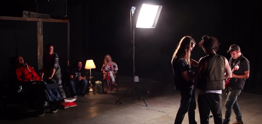 Go Behind The Scenes and See the Making of Jason Becker's Hold On To Love Music Video