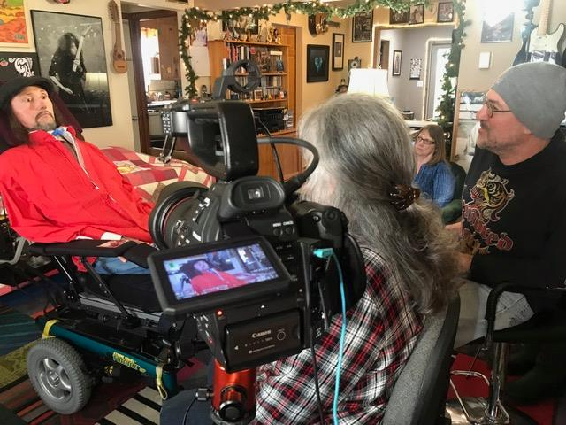 """Jason Becker Interviewed for the upcoming INSIDE METAL Documentary """"Bay Area Godfathers"""""""