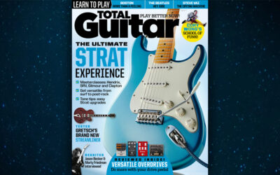 5-Page Feature on Jason Becker in Total Guitar Magazine