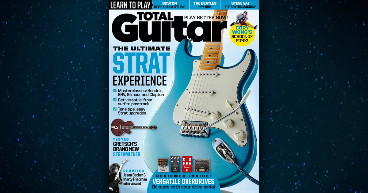 Total Guitar Feature on Jason Becker and Marty Friedman