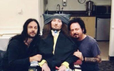 Jason Becker with Steve Lukather and Richie Kotzen
