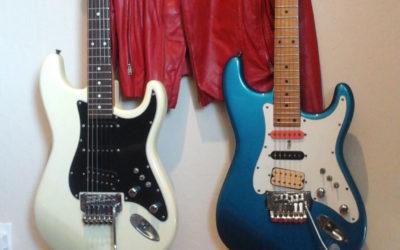 Jason Becker's Perpetual Burn Guitars and Jacket