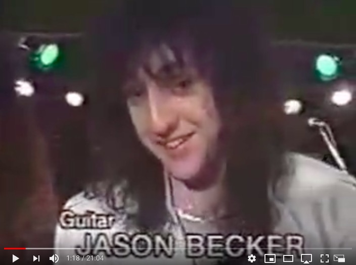 Cacophony 1989 Interview from Japan