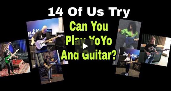 We Try To Play Yo Yo and Guitar Like Jason Becker