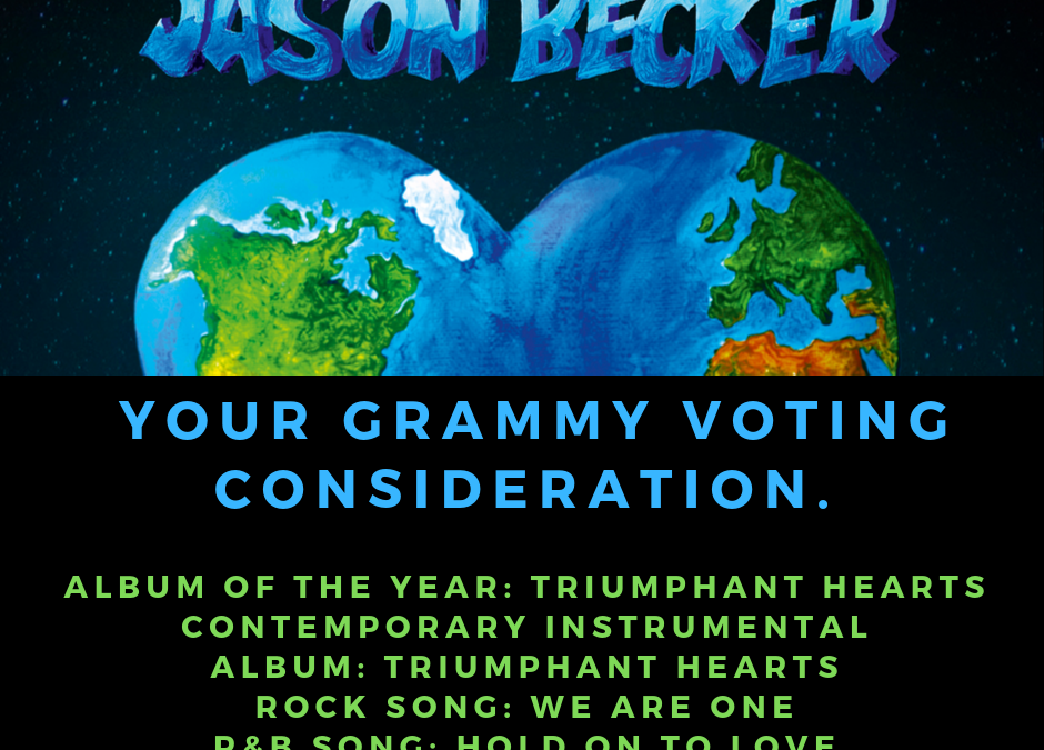 Jason Becker For Your Grammy Consideration & Cataract Surgery
