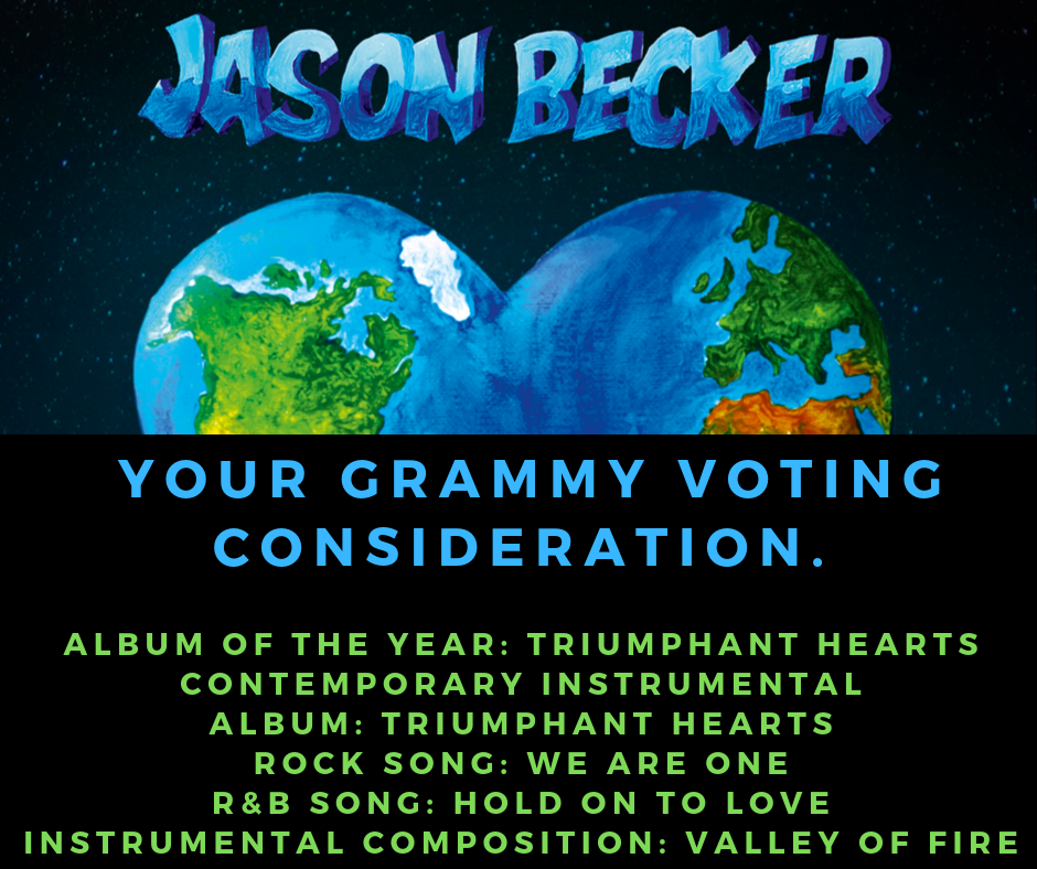 Jason Becker Grammy Nominations