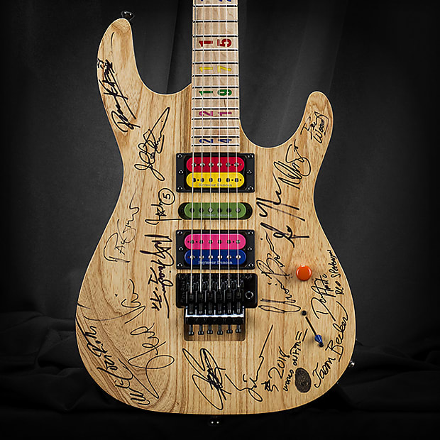 Kiesel JB24 Jason Becker Tribute – *Jason's Personal Guitar Signed by Multiple Guitarists*