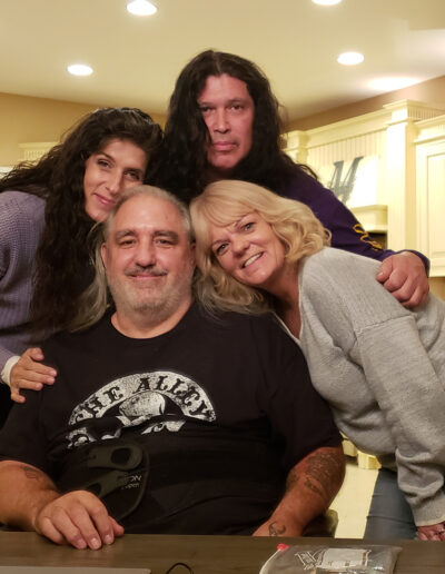 Rob M., Karen M., Colleen, and Stephen