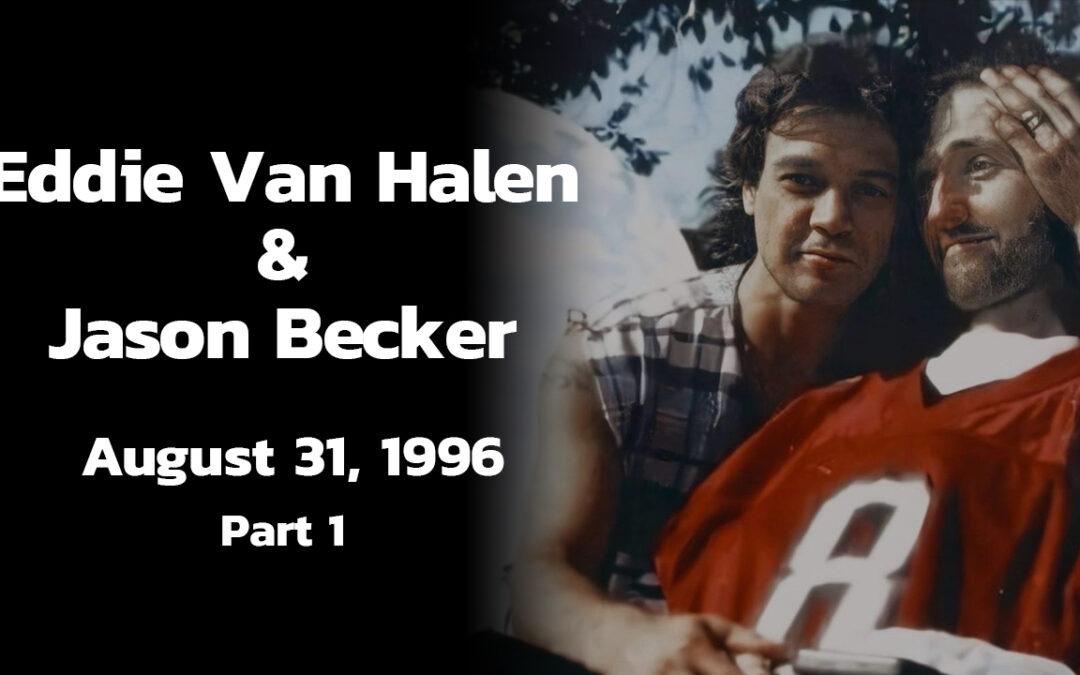 Previously Unseen Footage of Eddie Van Halen and Jason Becker