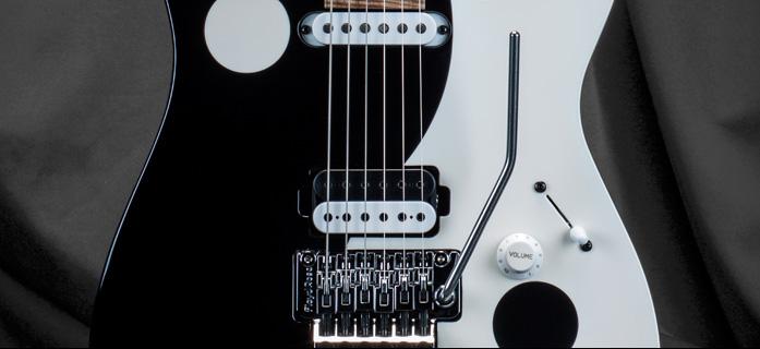 Jason Becker Yin Yang Tribute Guitar by Kiesel