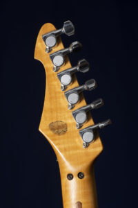 Jason Becker's Blue Hurricane Guitar - Photo by Stephanie Cabral