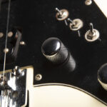 Jason Becker's White Hurricane Guitar - Photo by Stephanie Cabral